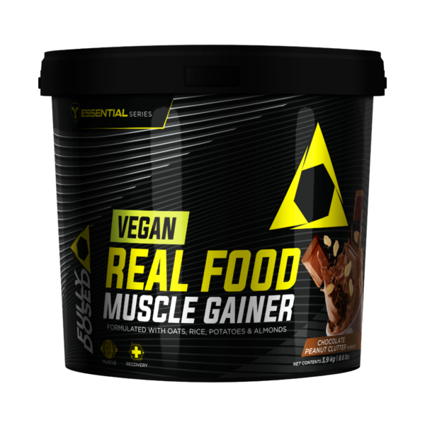 Vegan Real Food Muscle Gainer Chocolate Peanut Clutter